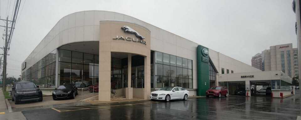 Exterior view of Jaguar Bethesda during the day