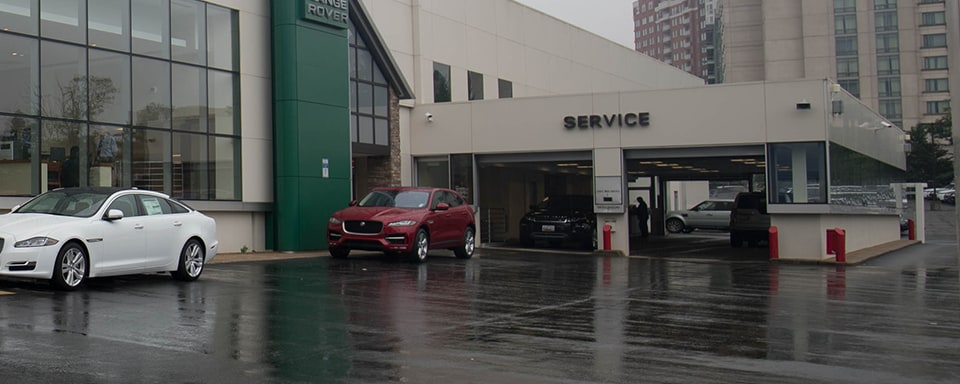 Jaguar Bethesda service center entrance