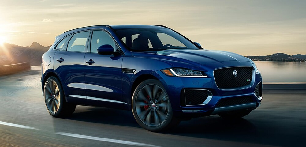 Front photo of 2018 Jaguar F-PACE