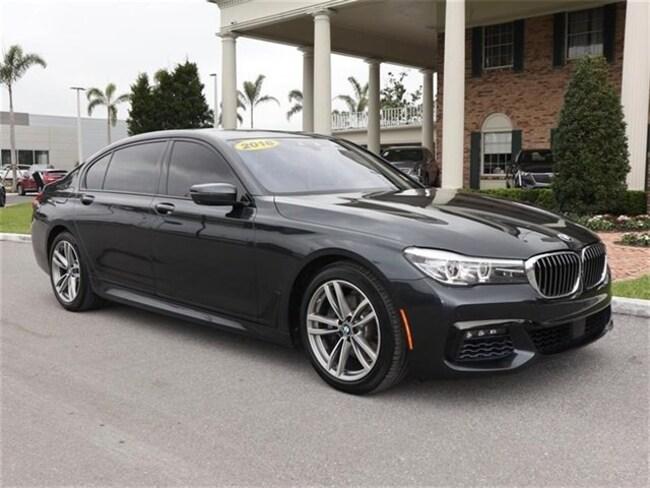 2016 BMW 740 740i Sedan