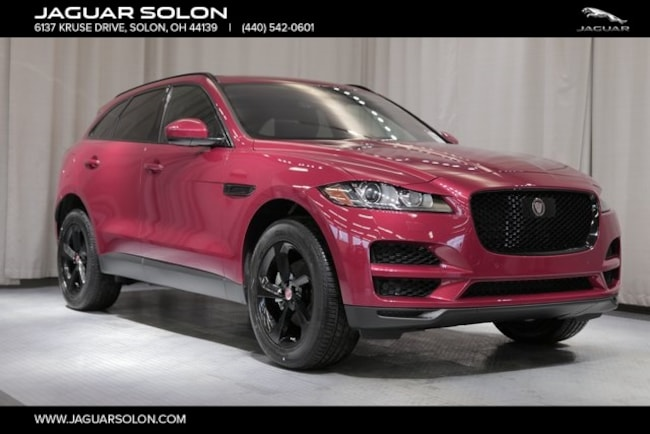 New 2019 Jaguar F-PACE 25t Premium SUV For Sale In Solon, Ohio