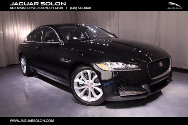 new 2018 jaguar xf for sale in solon, oh | sajbj4fx7jcy54325