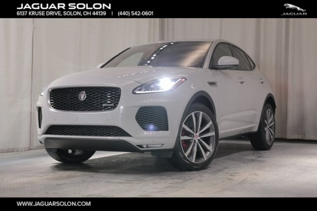 New 2019 Jaguar E-PACE R-Dynamic SUV For Sale In Solon, Ohio