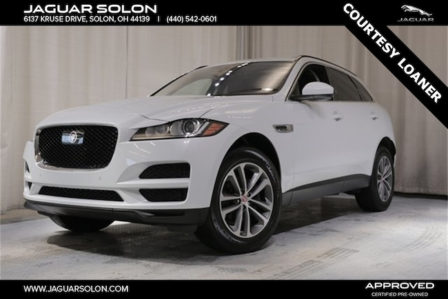 Used 2019 Jaguar F-PACE 25t Premium SUV For Sale In Solon, Ohio