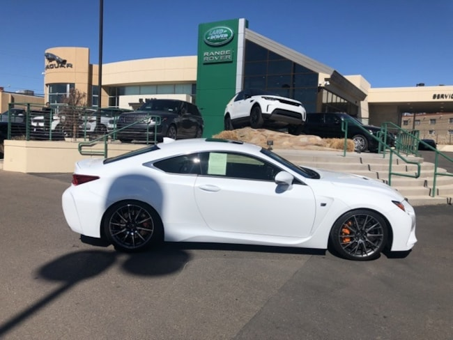 Used 2017 LEXUS RC F Coupe For Sale El Paso, Texas