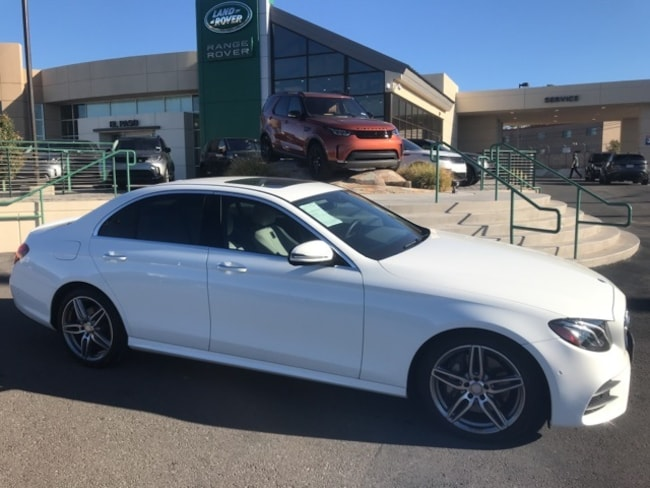 Used 2017 Mercedes-Benz E-Class E 300 Sedan For Sale El Paso, Texas
