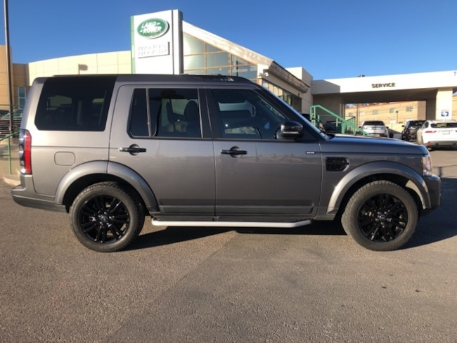 Certified Pre-Owned 2016 Land Rover LR4 SUV For Sale El Paso, TX