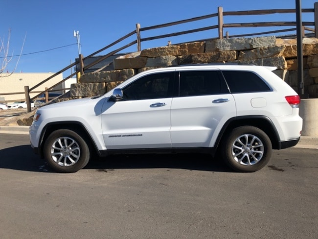 Used 2014 Jeep Grand Cherokee Limited 4x2 SUV For Sale El Paso, Texas