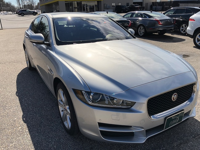 New 2018 Jaguar XE AWD 20d Prestige Sedan in Exeter, NH