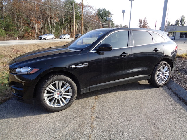 Certified Pre-Owned 2017 Jaguar F-PACE AWD 35t Prestige SUV in Exeter, NH