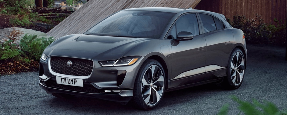 Front 3/4 view of a Jaguar I-Pace First Edition