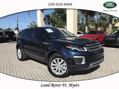 Range Rover Naples >> Used 2017 Land Rover Range Rover Evoque For Sale At Audi