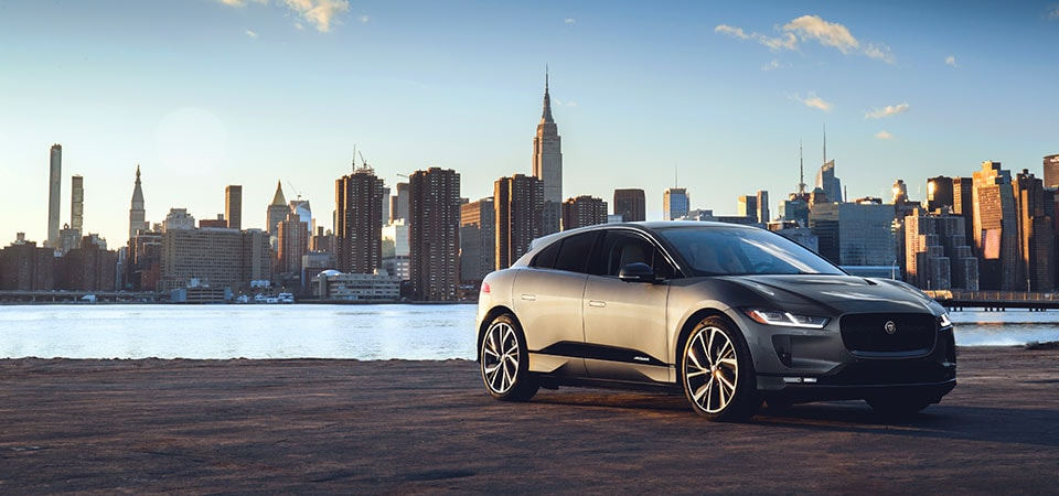 Jaguar I-PACE Electric SUV in New York