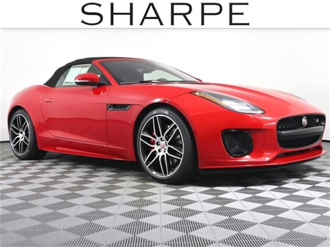 New 2020 Jaguar F-TYPE Checkered Flag Convertible Convertible SAJDD5GX9LCK63050 Grand Rapids