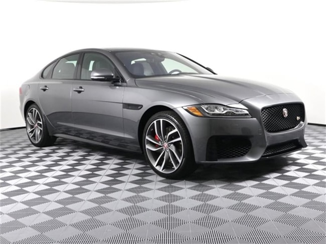 New 2019 Jaguar XF S Sedan SAJBM4FV8KCY76681 Grand Rapids