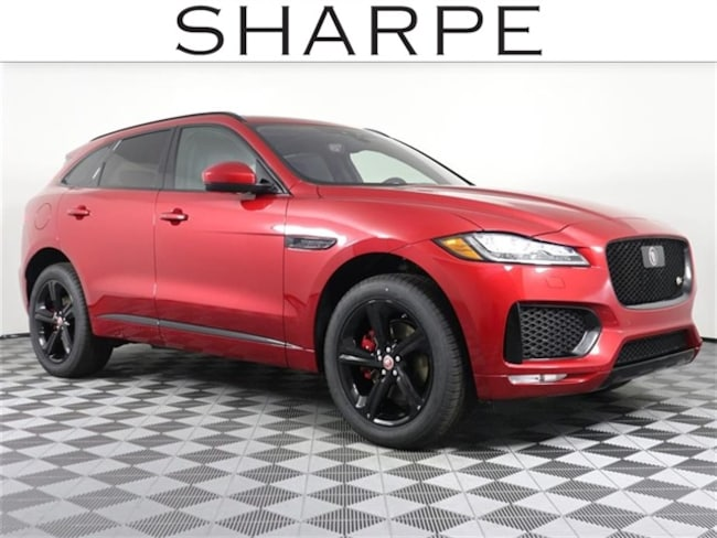 New 2019 Jaguar F-PACE S SUV SADCM2FVXKA611350 Grand Rapids
