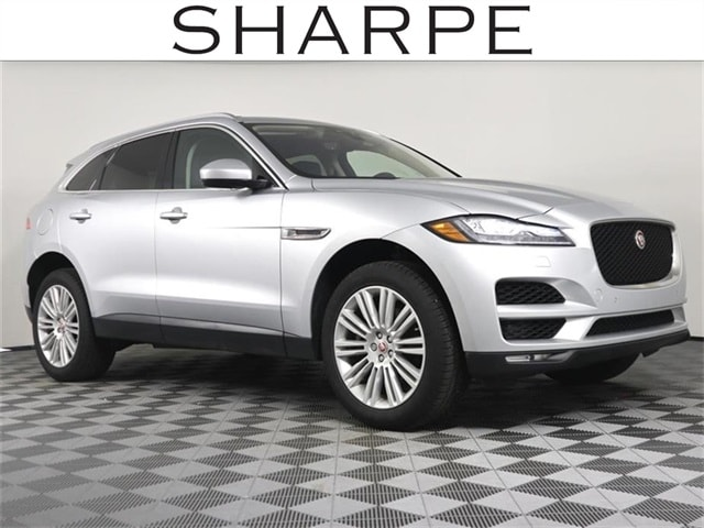 Featured Used 2019 Jaguar F-PACE 30t Portfolio SUV for sale in Grand Rapids MI