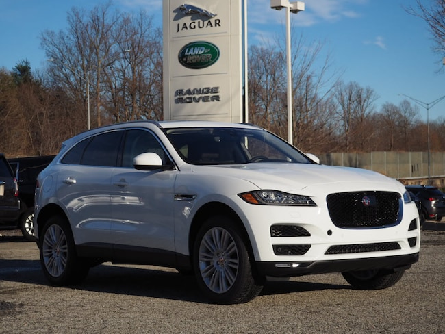 New 2019 Jaguar F-PACE Portfolio SUV Greensboro North Carolina