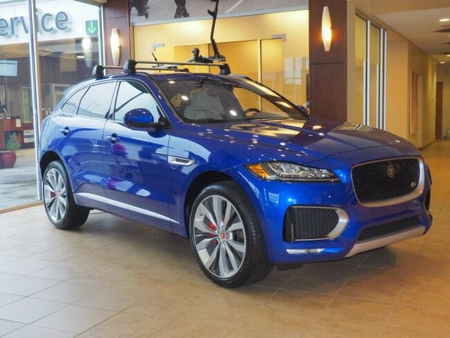 New 2019 Jaguar F-PACE S SUV Greensboro North Carolina