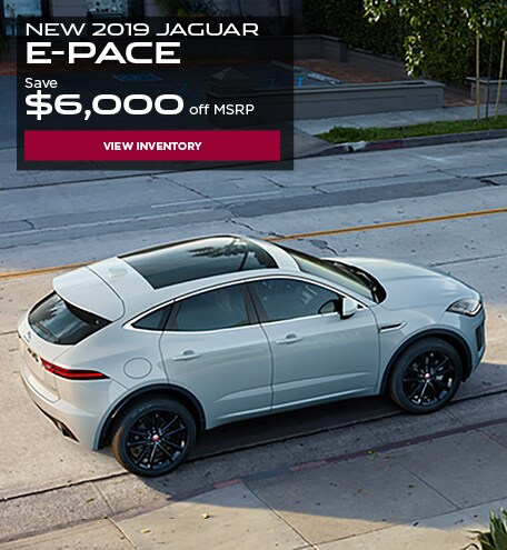 New 2019 Jaguar E-Pace