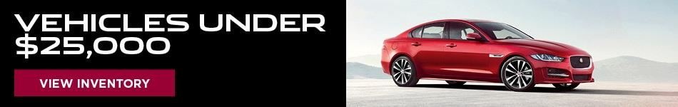 Vehicles Under $25,000