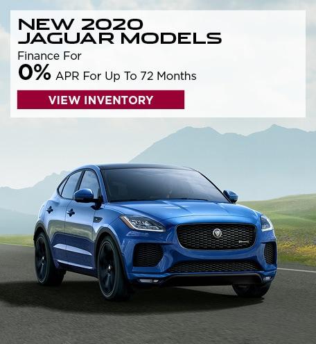 New 2020 Jaguar Models
