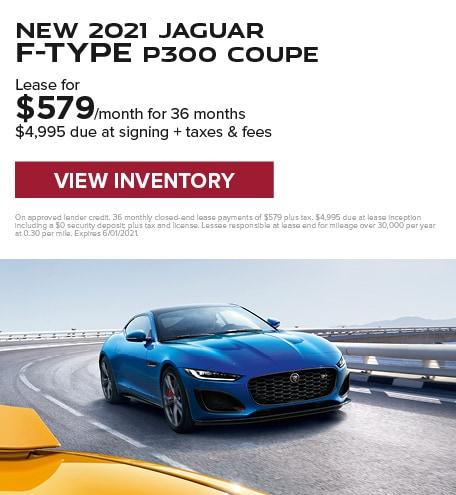 New 2021 Jaguar F-TYPE