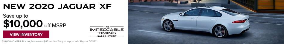 New 2020 Jaguar XF