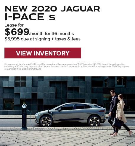 New 2020 Jaguar I-Pace