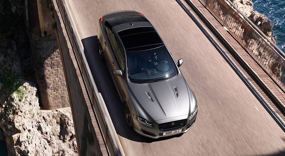 2018 Jaguar XJ Panoramic Roof Exterior Shot