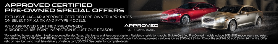 Approved APR Financing rates for select cpo