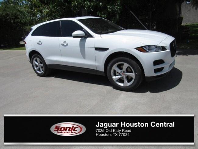 New 2019 Jaguar F-PACE 25t Premium SUV in Houston