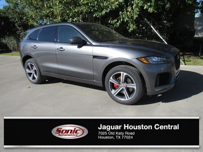 New 2019 Jaguar F-PACE S SUV in Houston