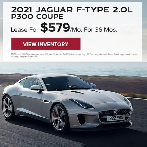 2021 Jaguar F-TYPE 2.0L P300 Coupe