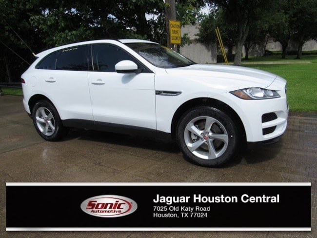 New 2018 Jaguar F-PACE 30t Premium SUV in Houston