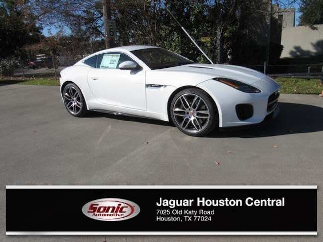 New 2019 Jaguar F-TYPE R-Dynamic Coupe in Houston