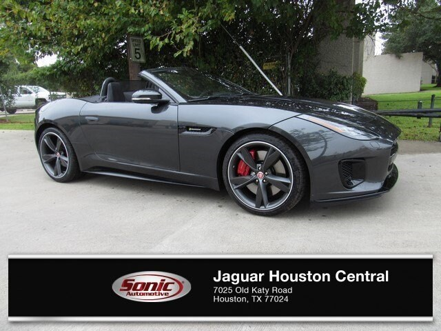 New 2019 Jaguar F TYPE R Dynamic Convertible In Houston