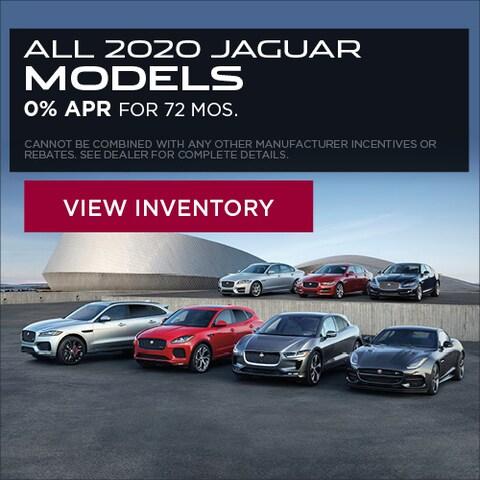 All 2020 Jaguar Models