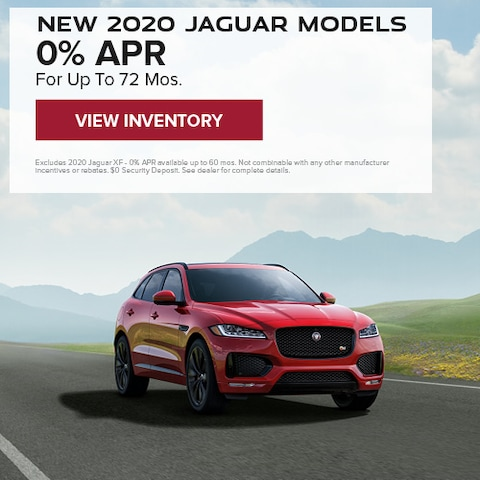 New 2020 Jaguar Models