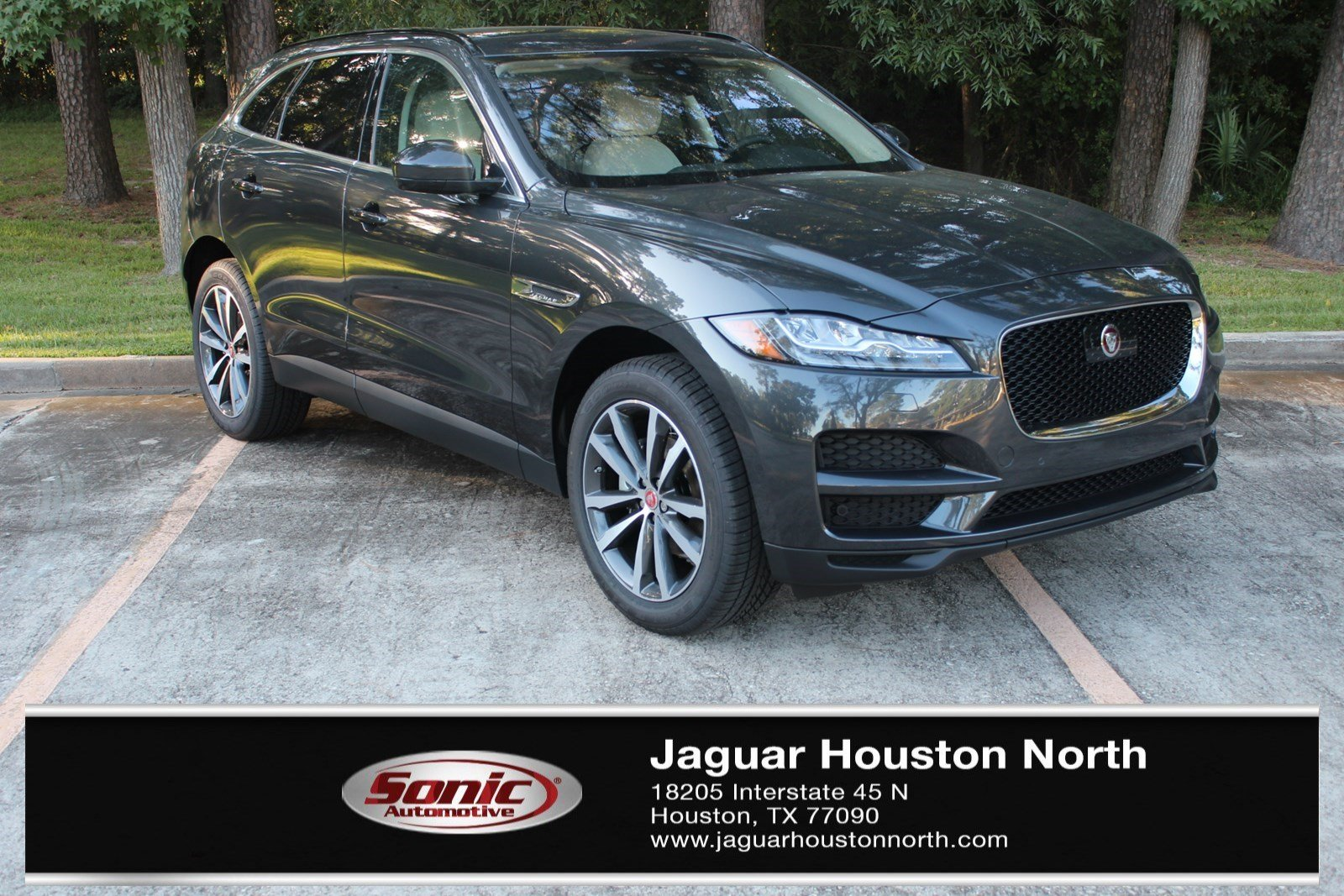 In Houston 2019 Jaguar F PACE 20d Prestige SUV New