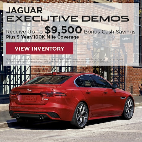 Jaguar Executive Demos