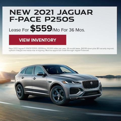 New 2021 Jaguar F-PACE P250S