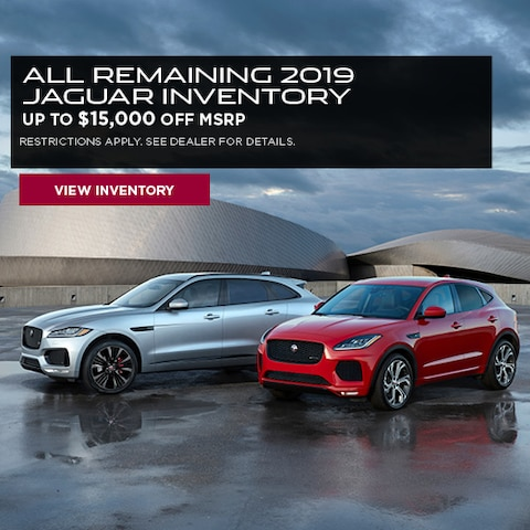All Remaining 2019 Jaguar Inventory