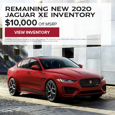 Remaining New 2020 Jaguar XE Inventory