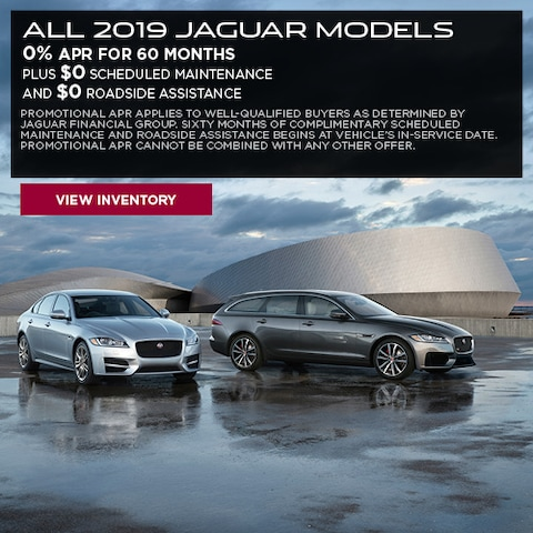 All 2019 Jaguar Models