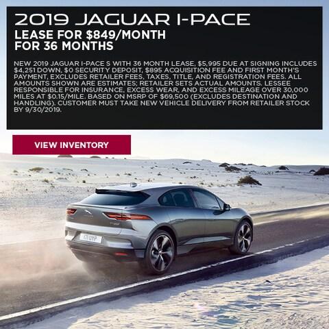 2019 Jaguar I-PACE - Lease