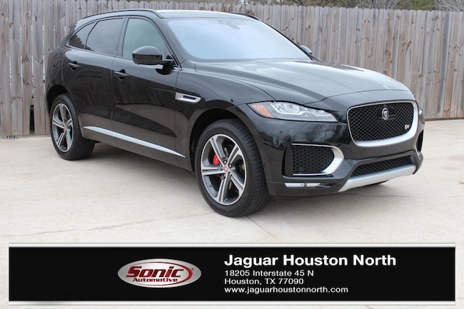 in Houston 2019 Jaguar F-PACE S SUV New