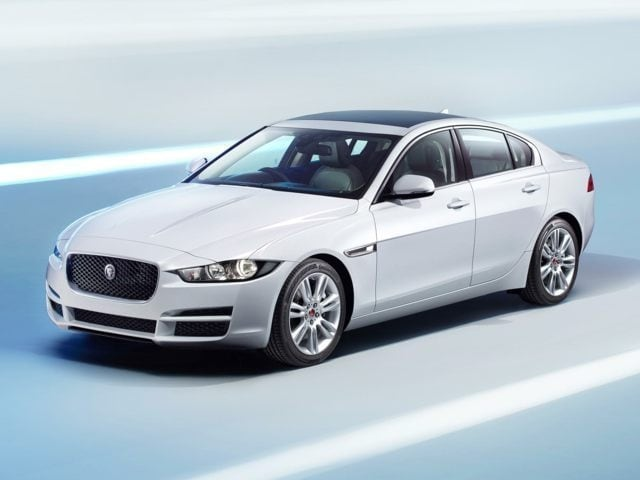 new Jaguar XE sedan