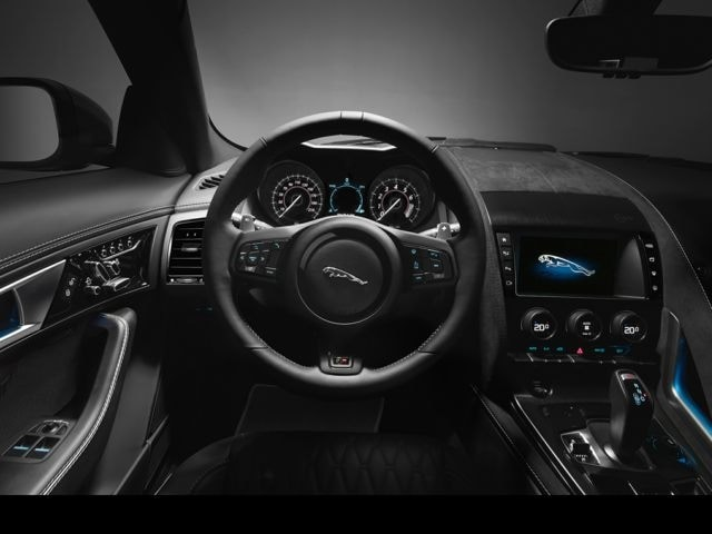 inside the 2017 Jaguar F-Type