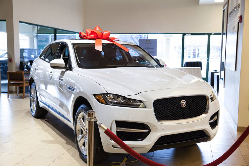 Jaguar F-PACE SUV preview event at Jaguar Huntington, Long Island, New York